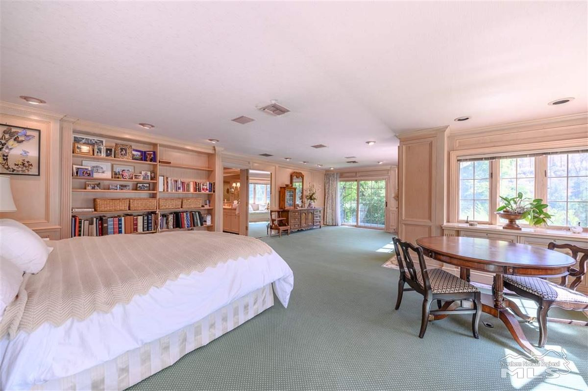 Luxury homes in Historic, iconic home on 5 acres with 500 feet of Truckee River frontage