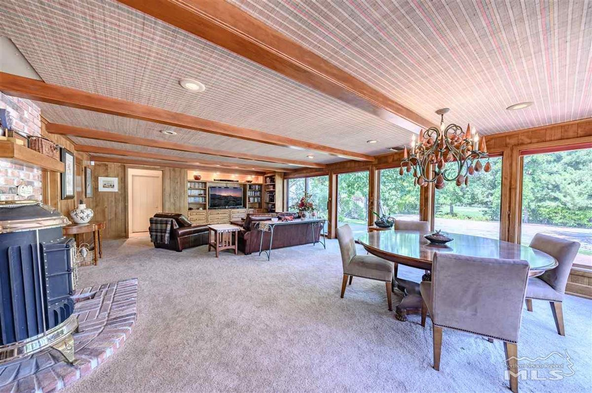 Mansions in Historic, iconic home on 5 acres with 500 feet of Truckee River frontage