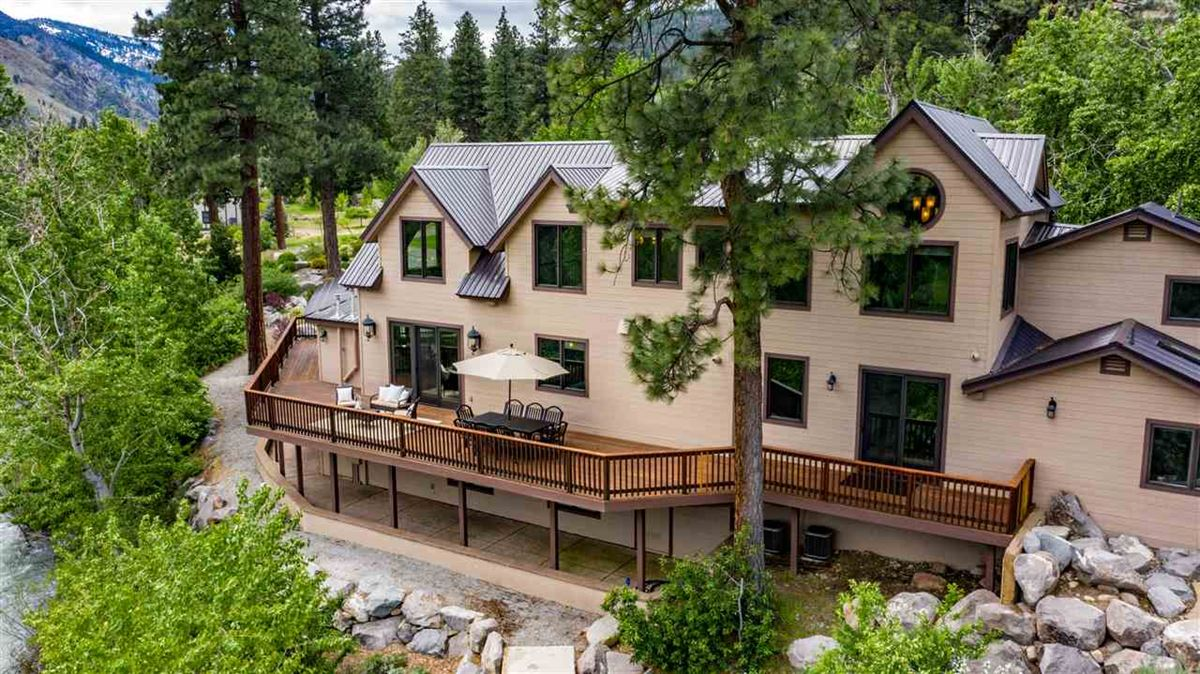 Luxury properties Upgraded Luxury Waterfront Estate Outside Reno