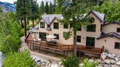 Upgraded Luxury Waterfront Estate Outside Reno luxury homes
