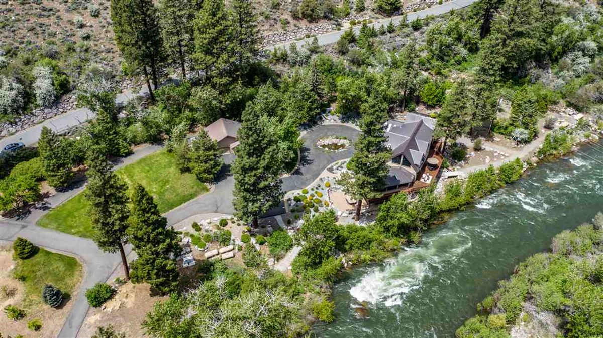 Mansions Upgraded Luxury Waterfront Estate Outside Reno