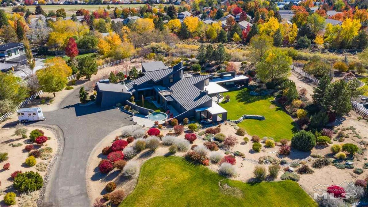 A modern marvel in the heart of Juniper Hills in Southwest Reno luxury homes