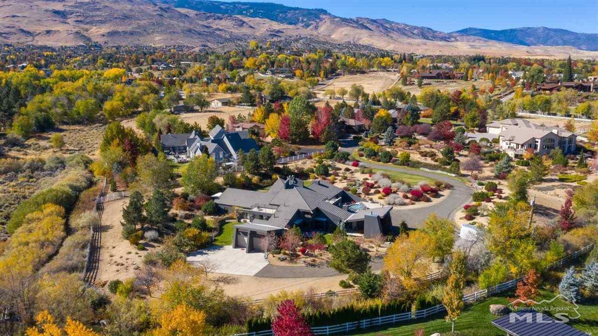 A modern marvel in the heart of Juniper Hills in Southwest Reno luxury real estate