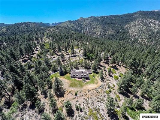 Mansions Nestled in the pine trees of Franktown