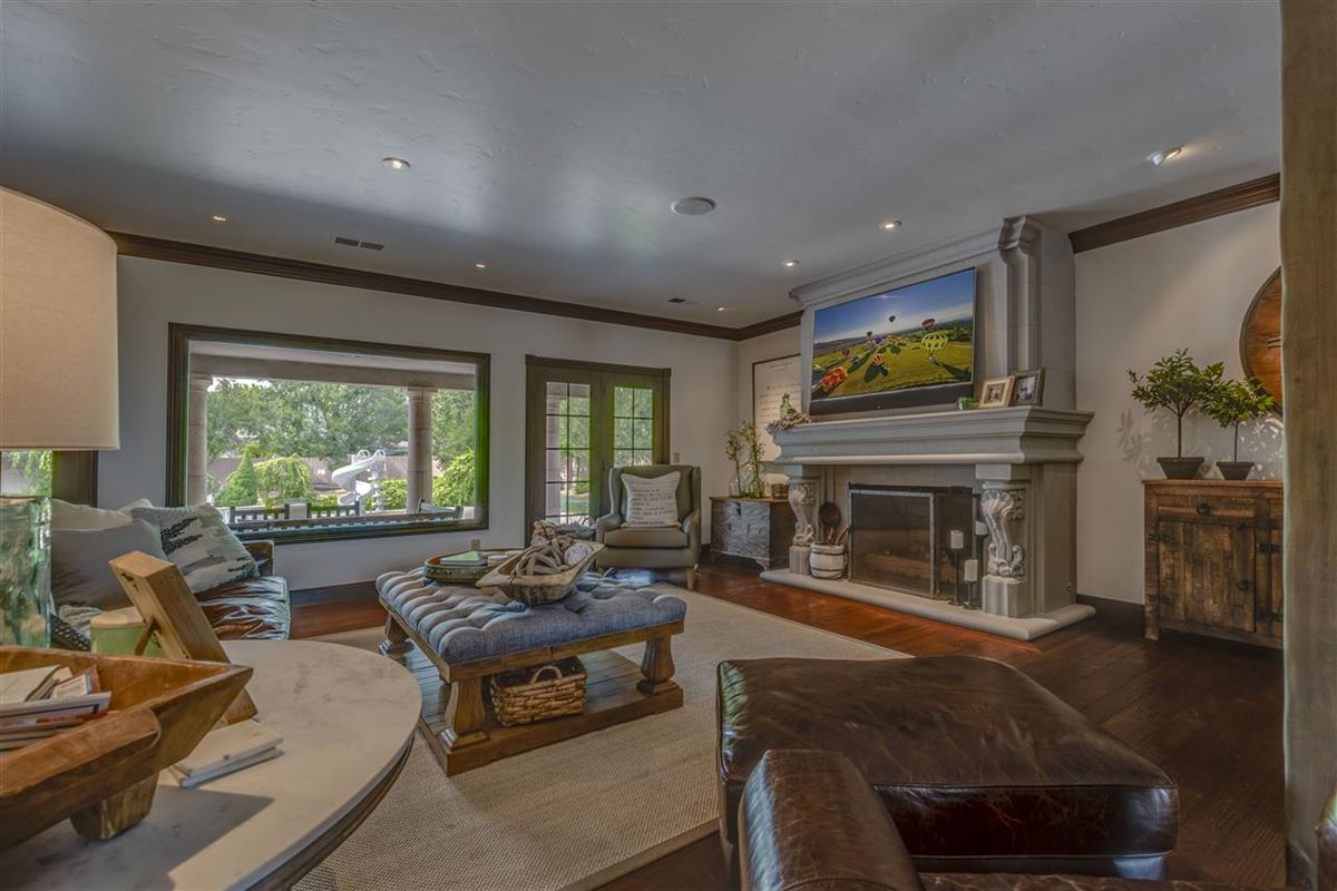 gated estate on almost 2 acres luxury homes