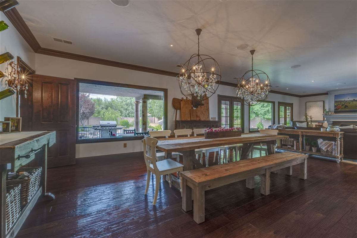 gated estate on almost 2 acres luxury real estate