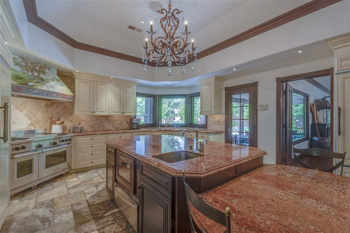 gated estate on almost 2 acres mansions