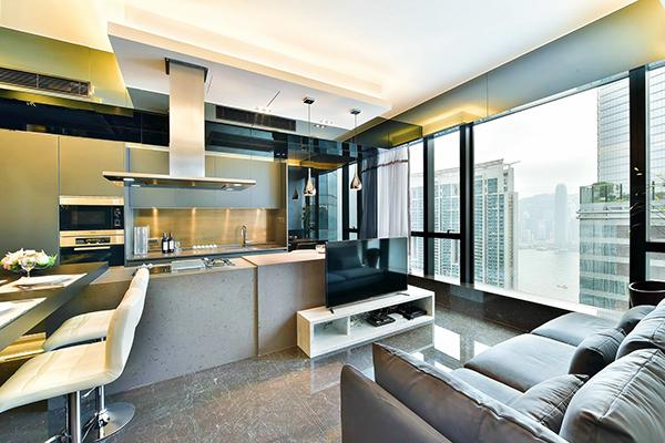 Luxury homes Kowloon Station High Rise - The Cullinan