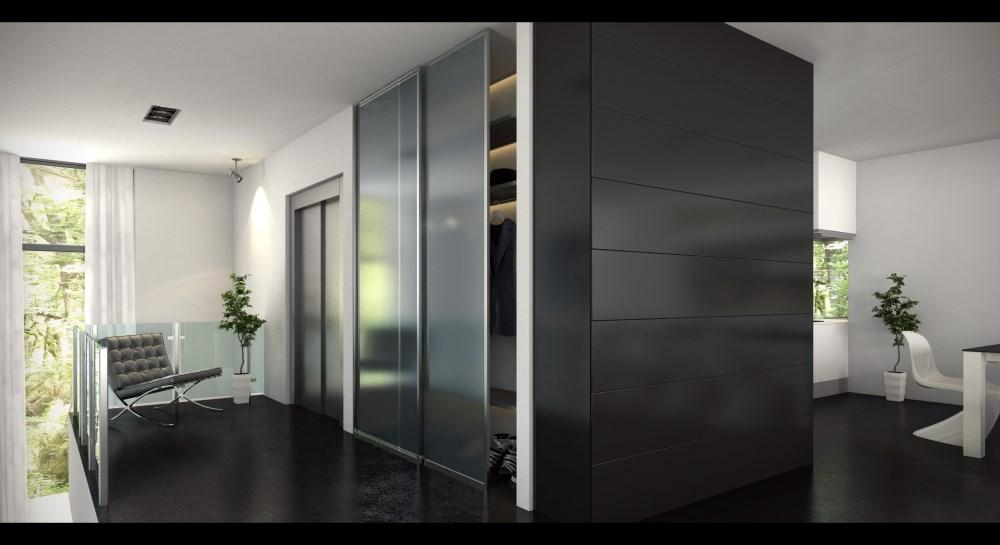 Newly built contemporary apartment luxury homes