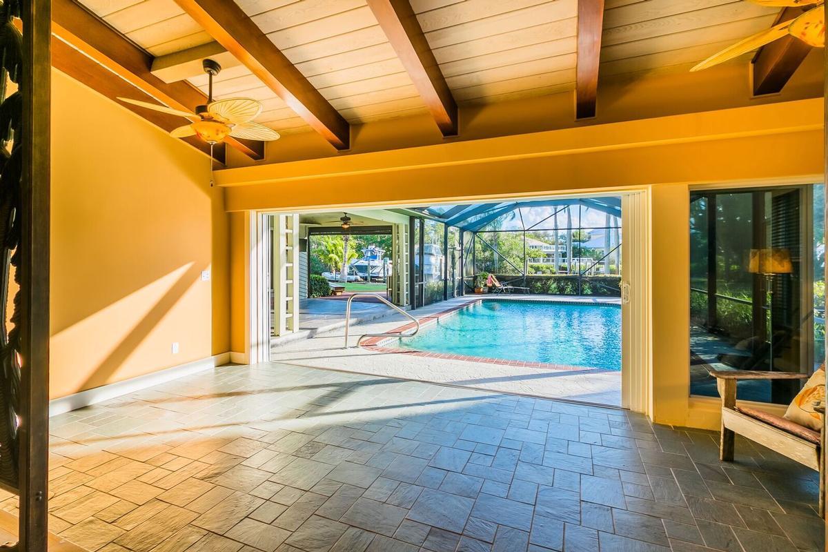 Mid-Century Coastal Style luxury real estate