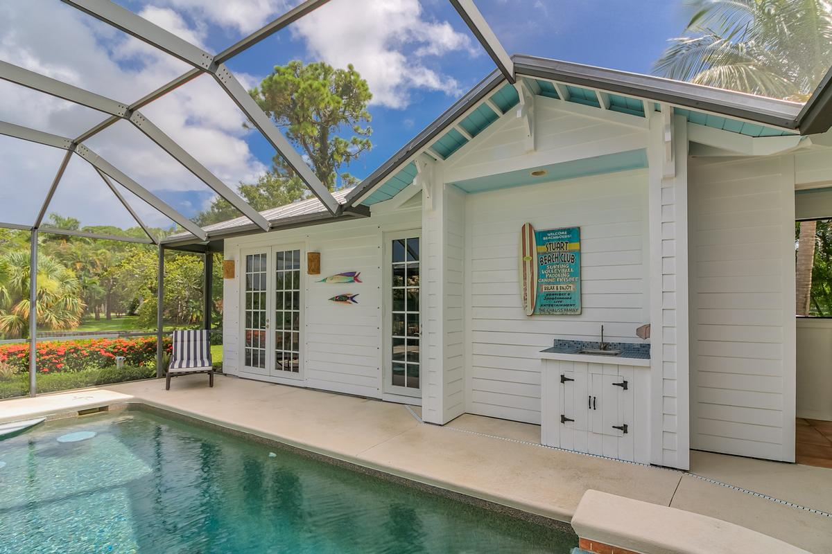Key West-style Waterfront Enclave mansions