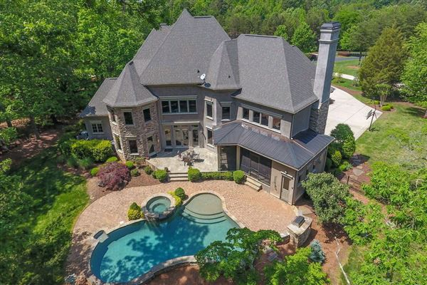 Luxury real estate Stunning French Provincial Home in huntersville