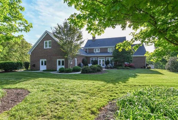 meticulously maintained country estate  luxury real estate