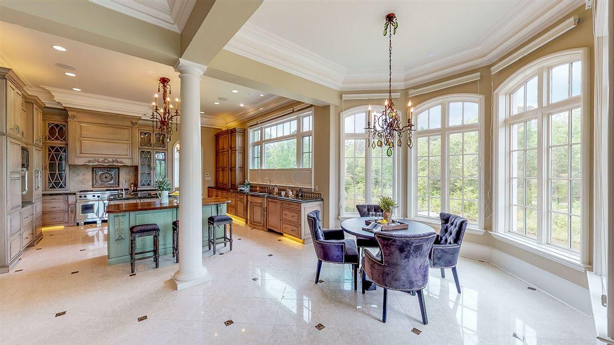 Mansions exquisite custom estate home