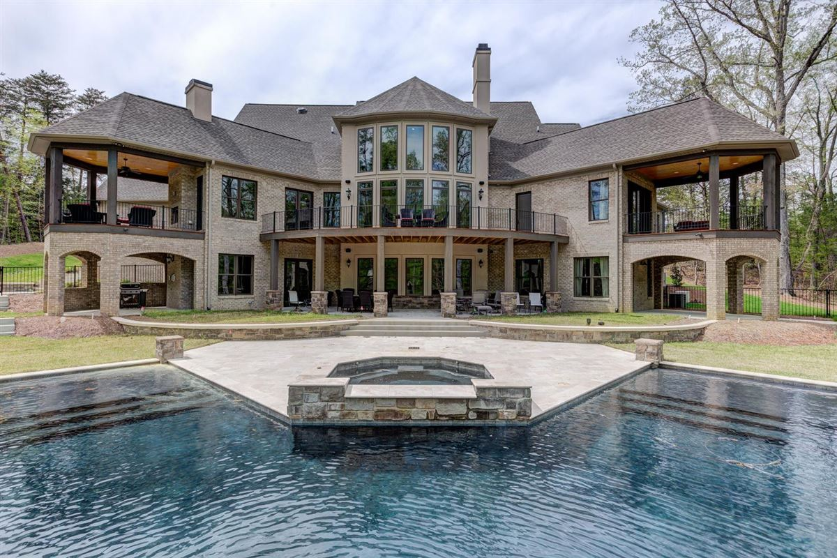 Luxury homes in European inspired home