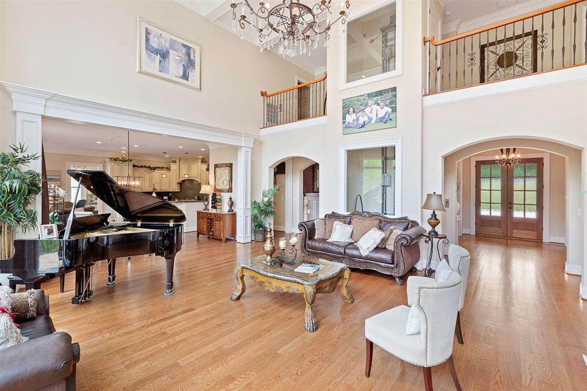 Luxury real estate European inspired home