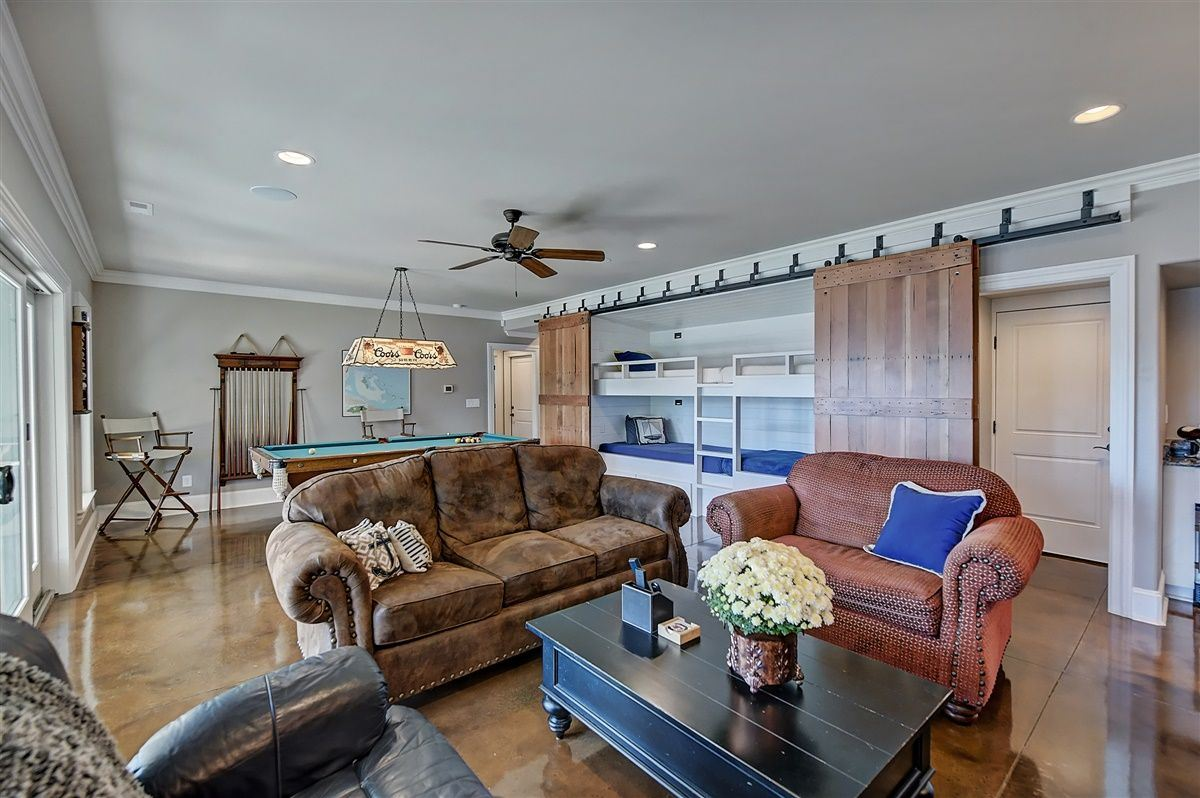 Luxury real estate Spacious waterfront home