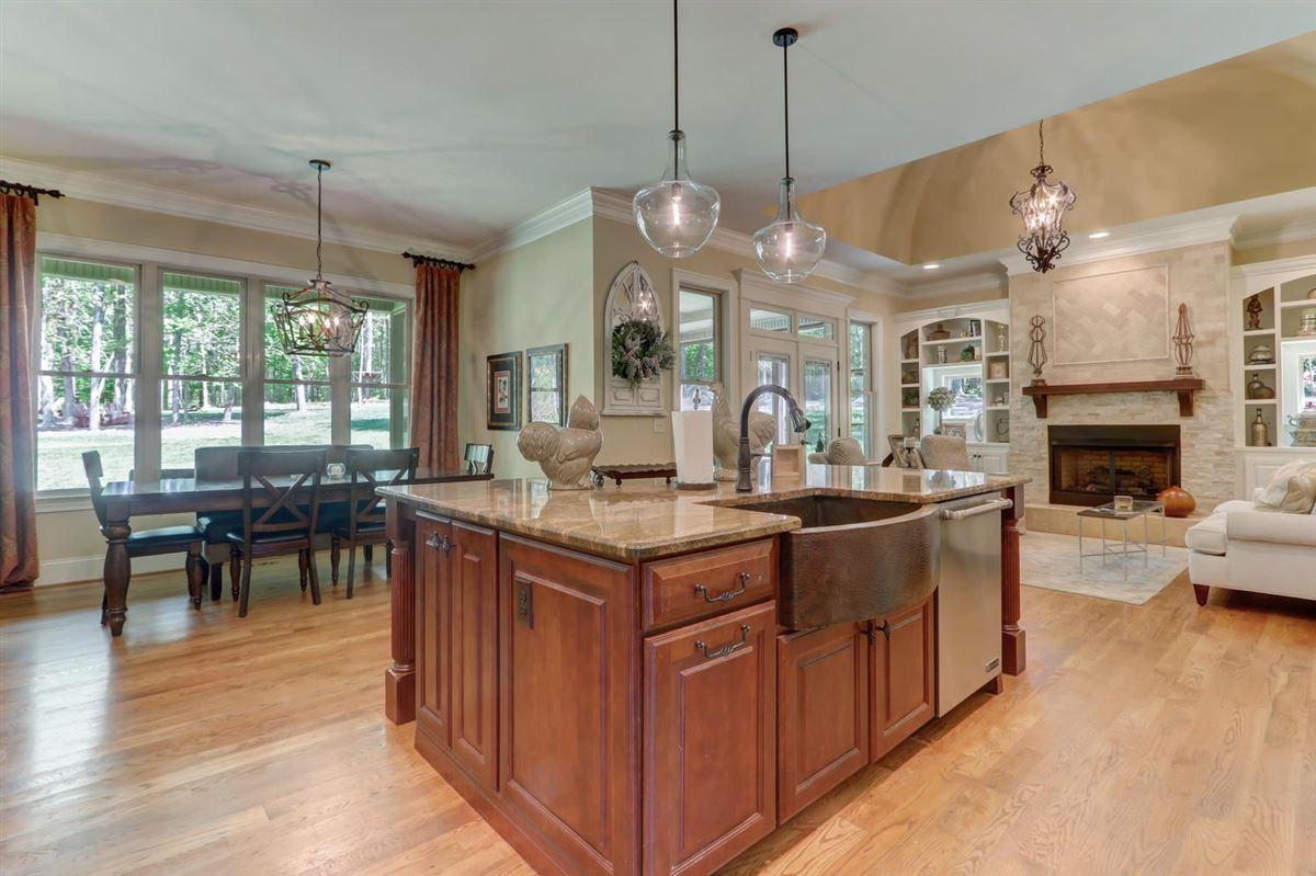 Mansions Timeless Elegant Custom Built Home