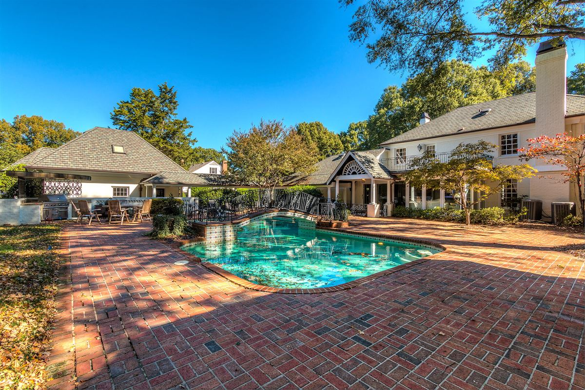 desirable address in the heart of South Park luxury homes