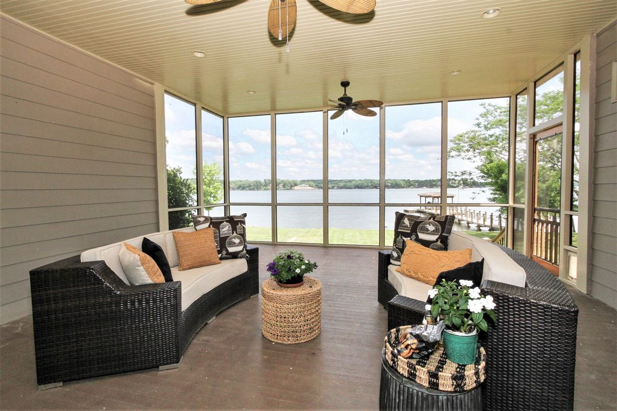 Exceptional main-channel waterfront home  luxury real estate