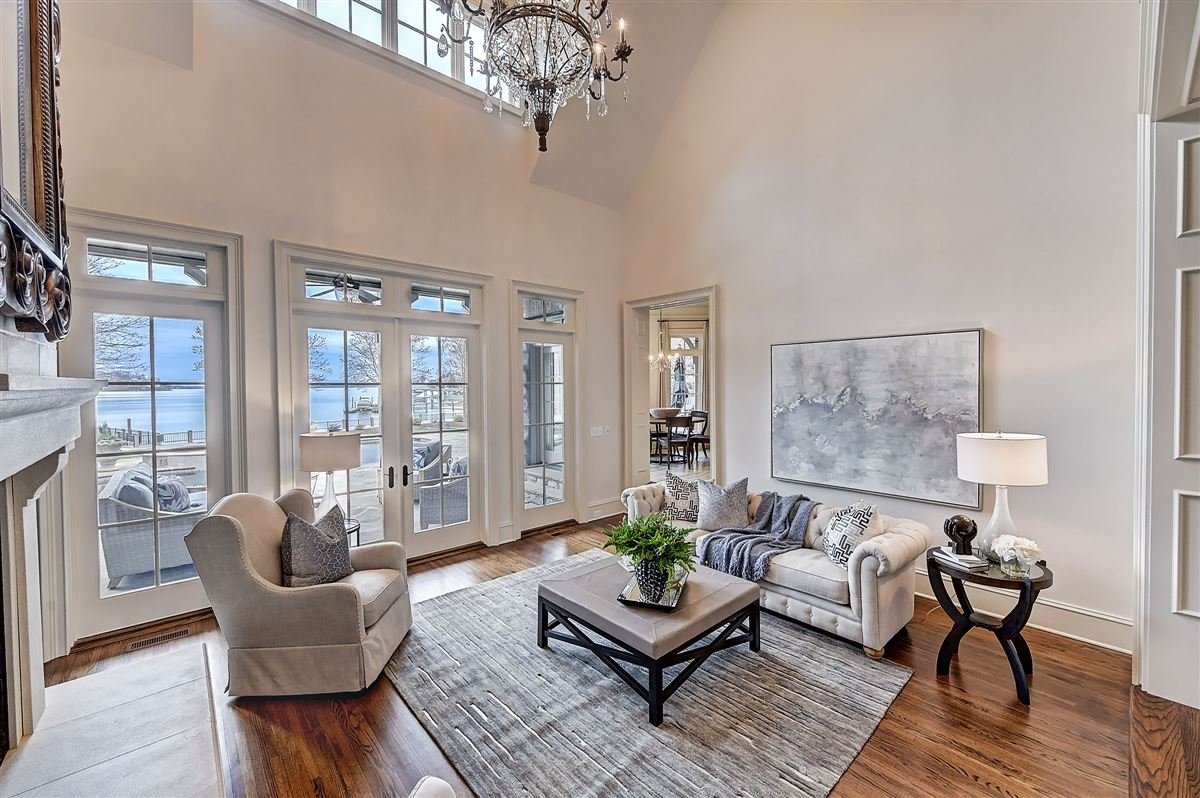 Luxury homes in magnificent Lake Norman Waterfront Estate