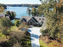 Picturesque lake views  luxury real estate
