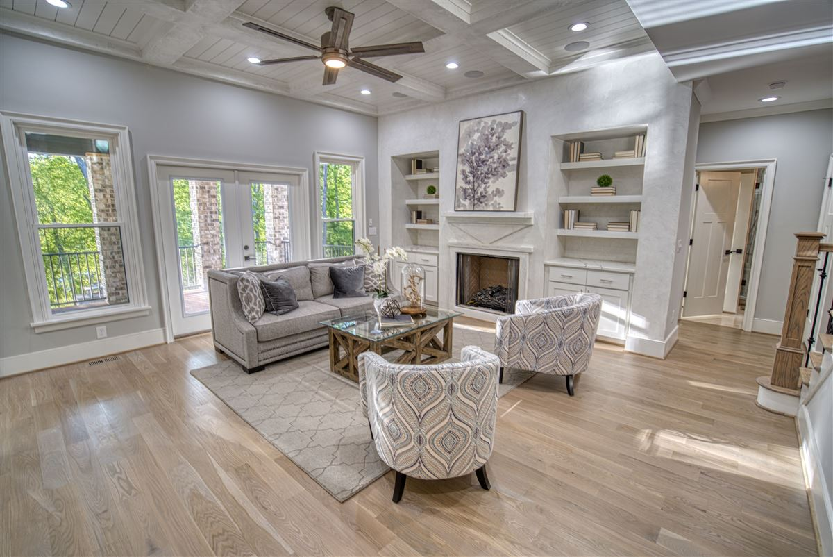 Gorgeous new limestone waterfront home luxury homes