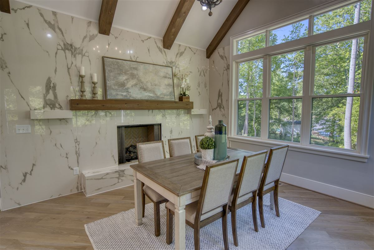Luxury homes in Gorgeous new limestone waterfront home