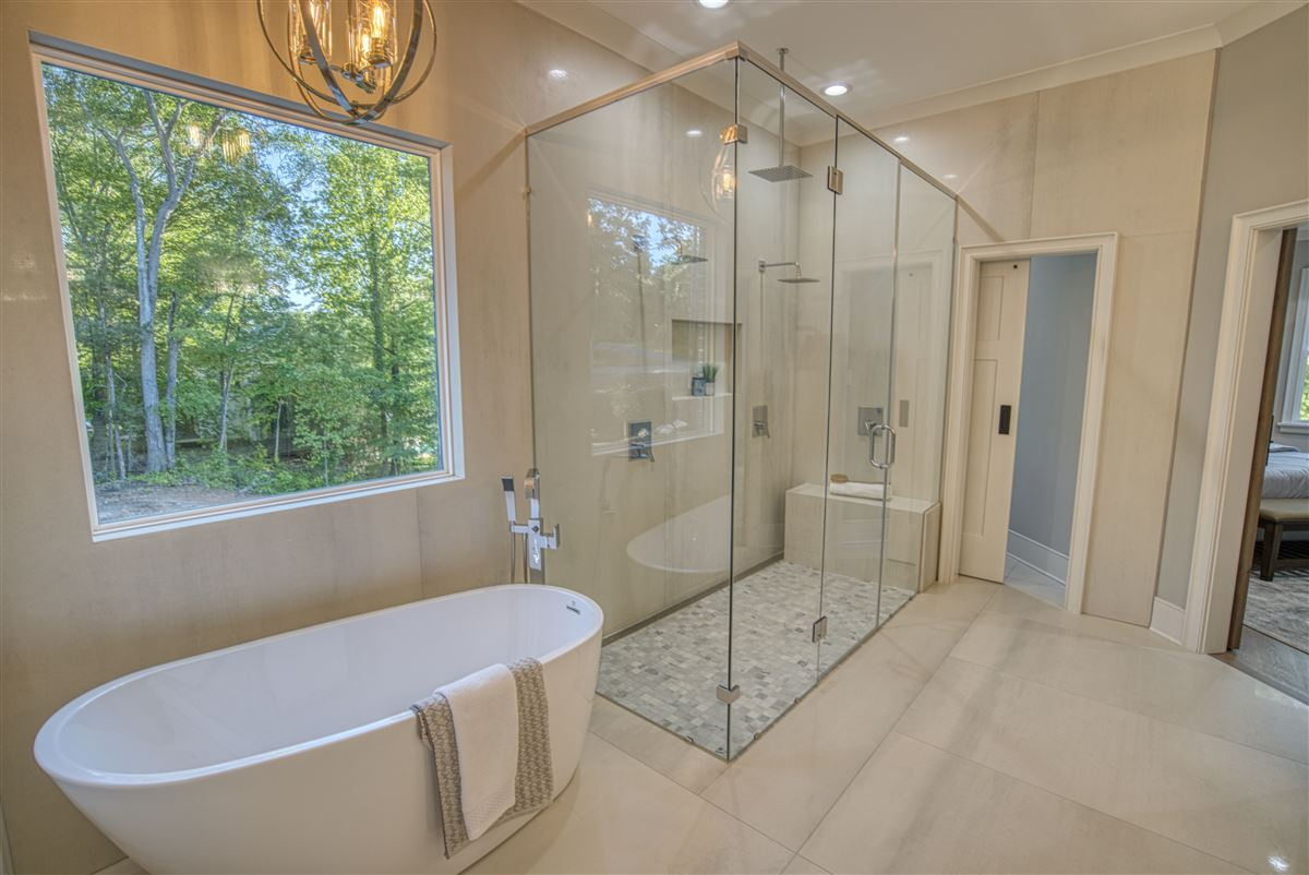 Gorgeous new limestone waterfront home luxury properties