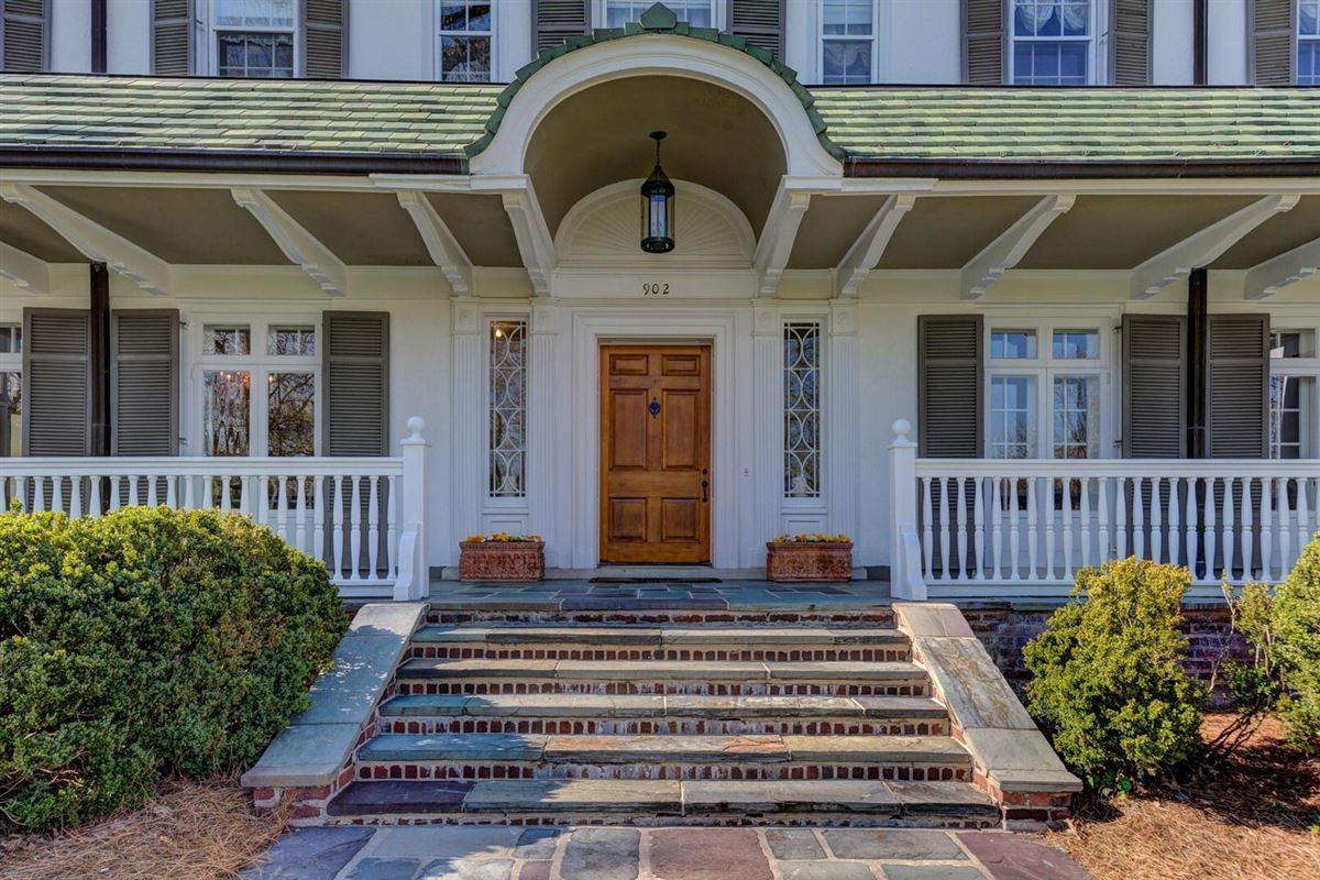 Luxury real estate stunning Colonial Revival