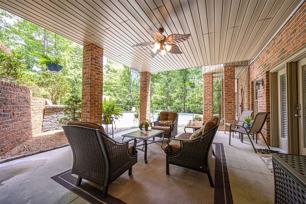 Luxury homes in this immaculate home is nestled in a peaceful setting with lake access