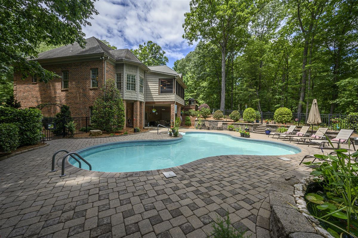 Mansions in this immaculate home is nestled in a peaceful setting with lake access