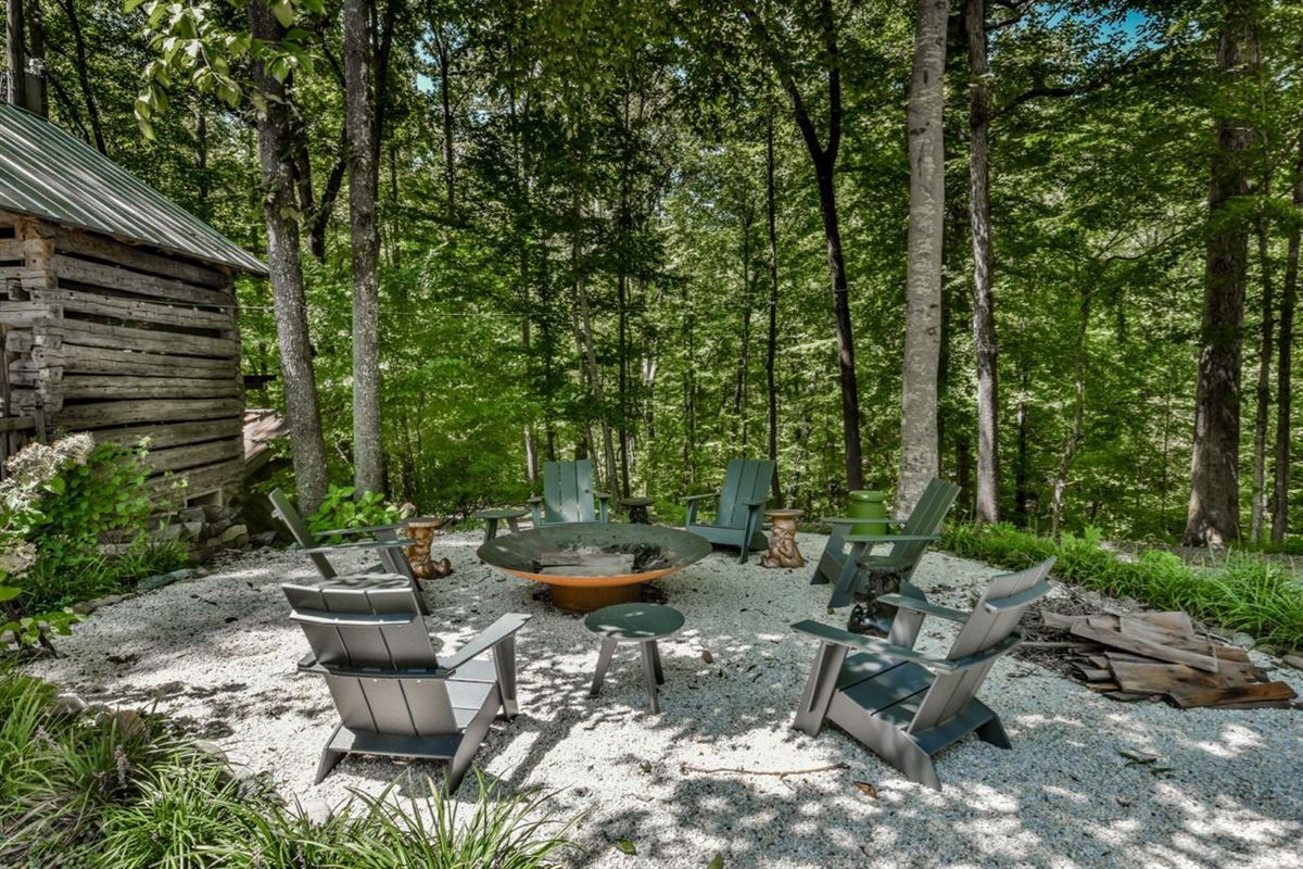 an enchanting property in a private wooded setting luxury homes