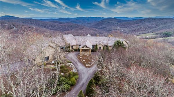 Immaculate mountain estate luxury real estate