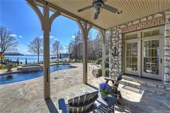 Luxury properties Extraordinary waterfront stone estate