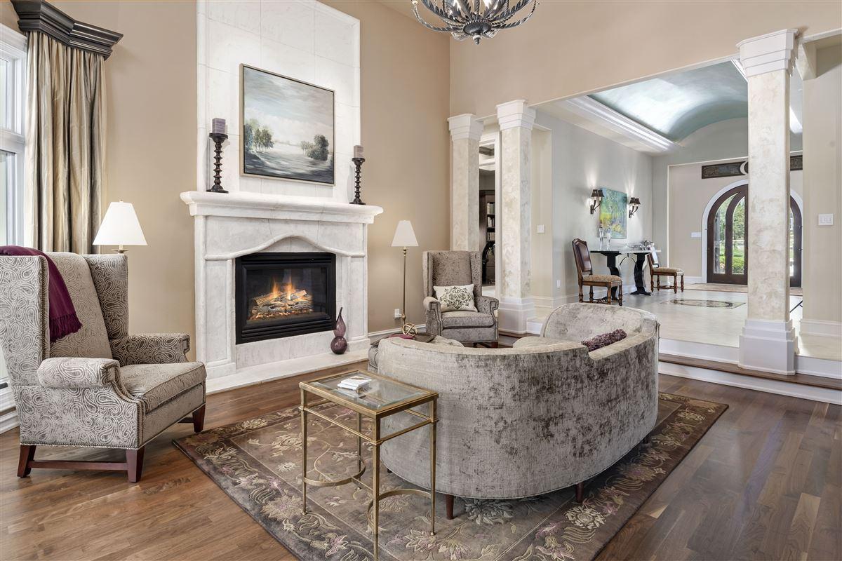 Luxury homes stunning custom home boasts sensational golf course views