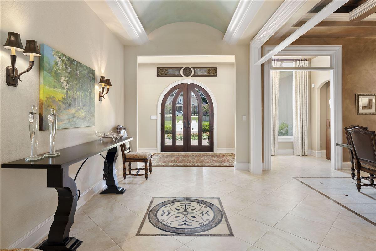 stunning custom home boasts sensational golf course views luxury homes