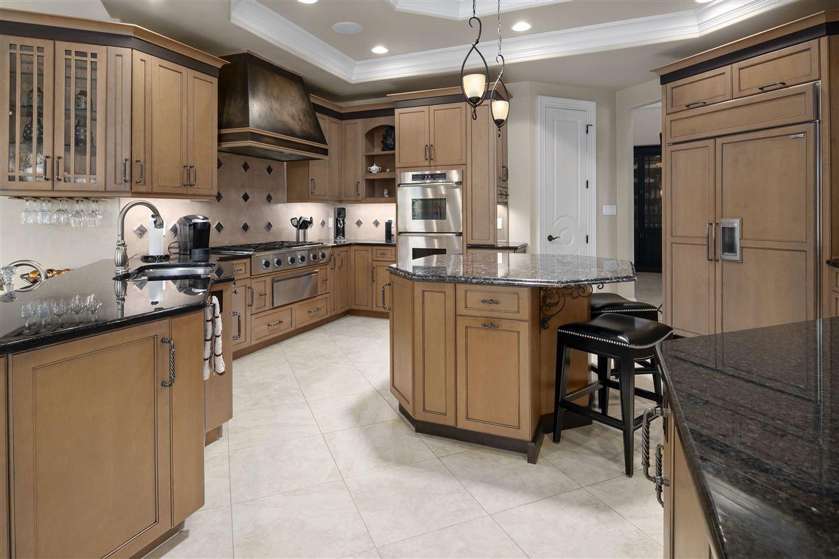 Luxury properties stunning custom home boasts sensational golf course views