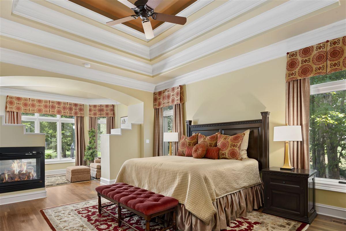stunning custom home boasts sensational golf course views mansions