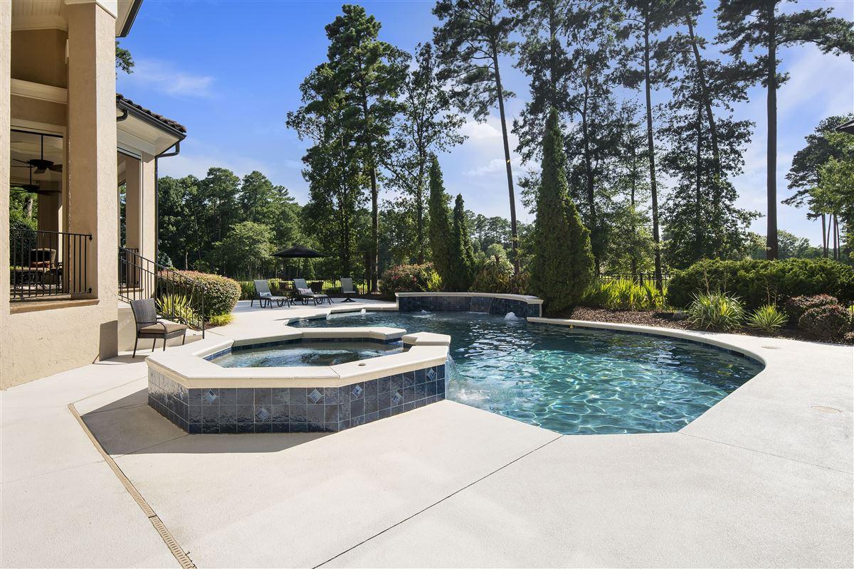 Luxury real estate stunning custom home boasts sensational golf course views