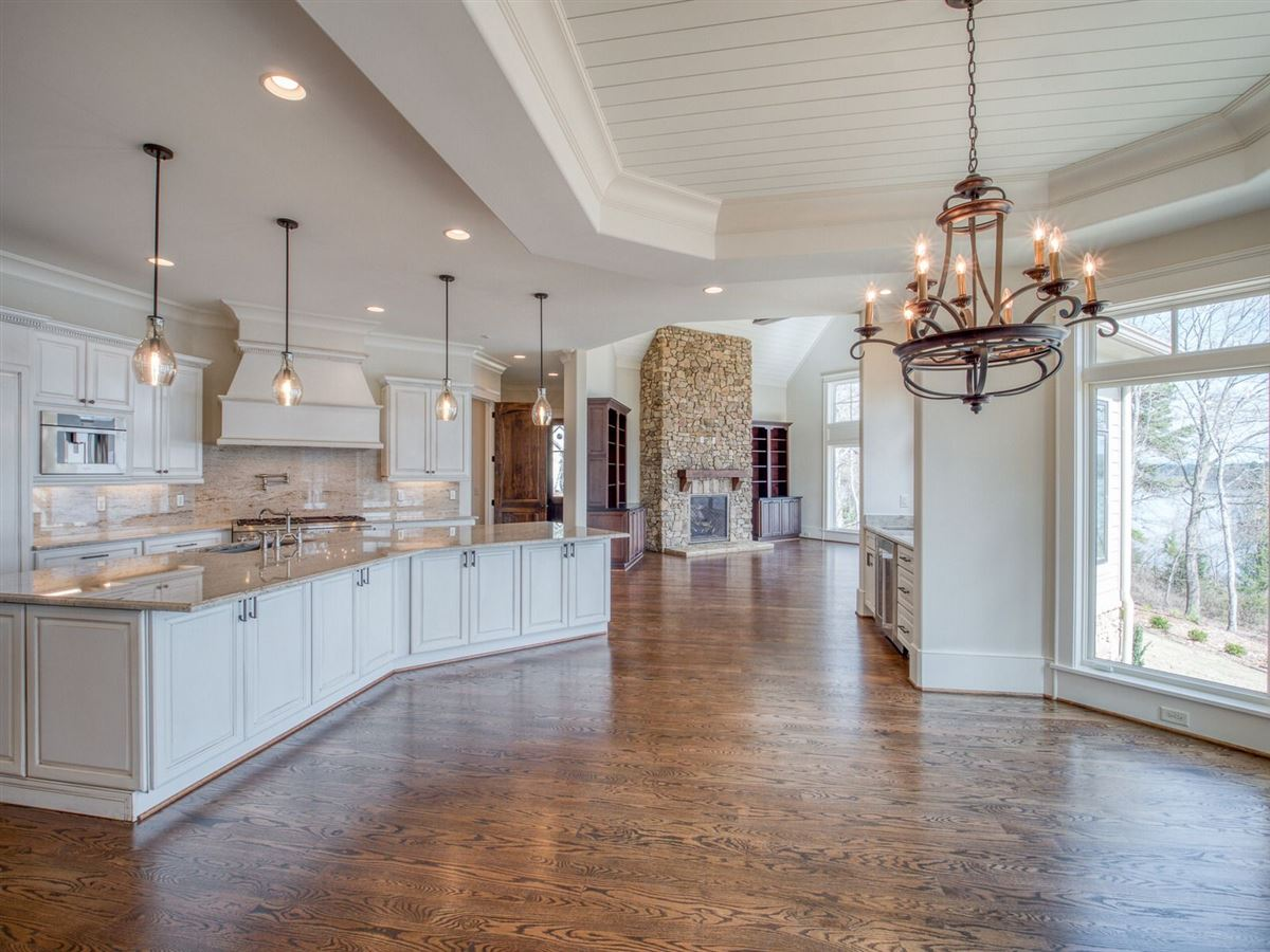 Brand New Luxury Home on Lake Keowee luxury homes