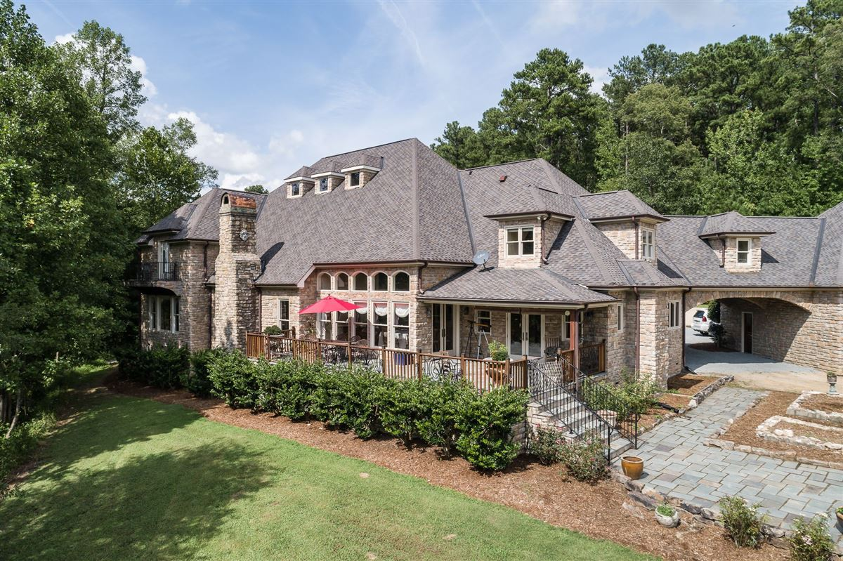 French Provincial Estate on eight Acres  mansions