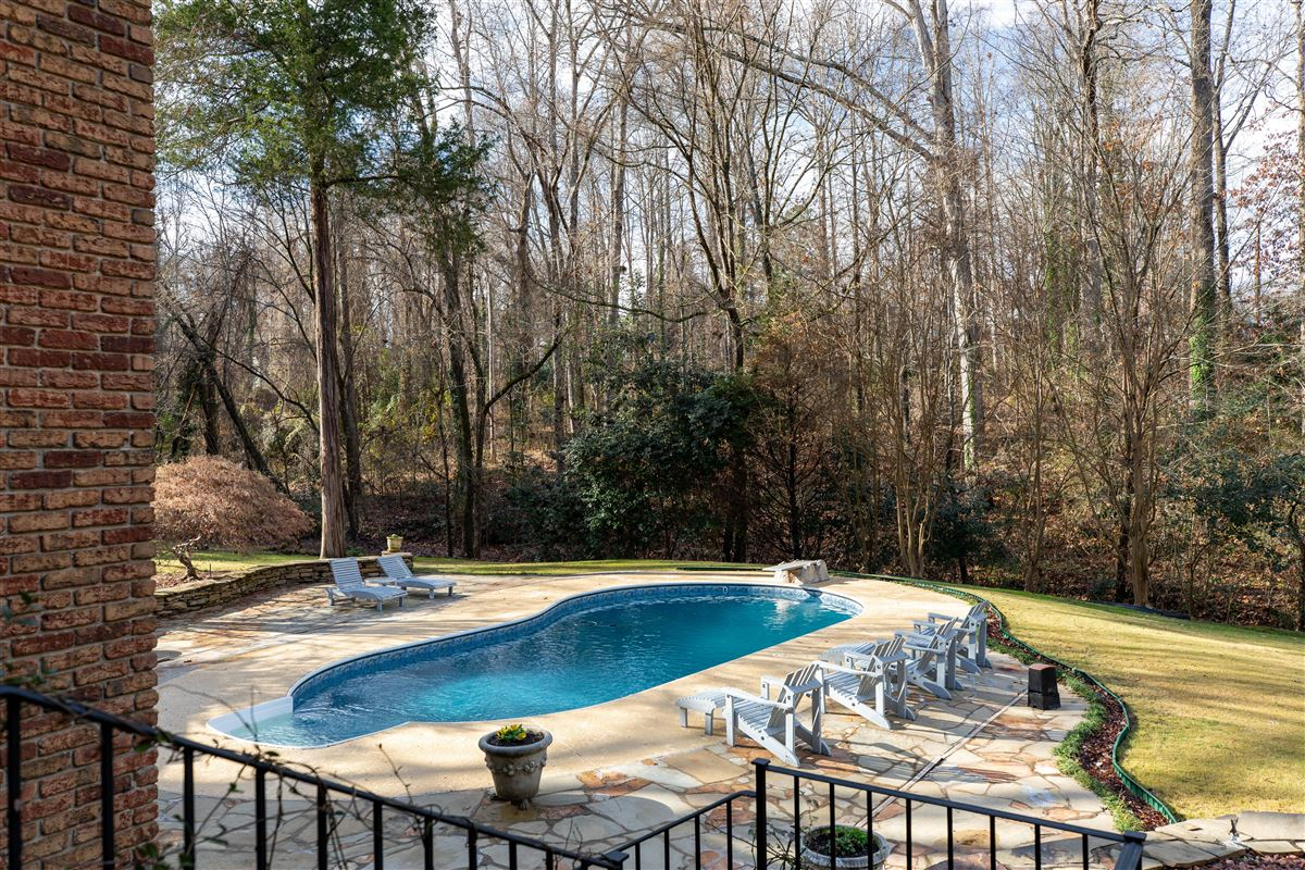 Luxury real estate One of a kind European style all brick home perfectly sited