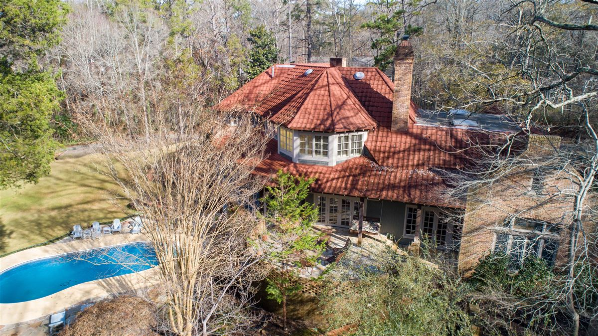 Mansions One of a kind European style all brick home perfectly sited