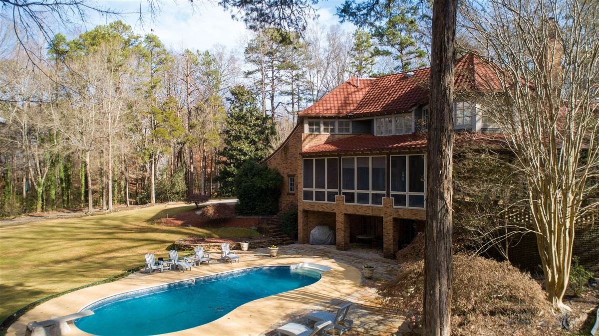 One of a kind European style all brick home perfectly sited luxury homes