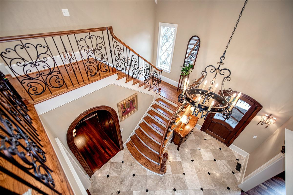Beautiful custom home reminiscent of an Italian Villa luxury real estate