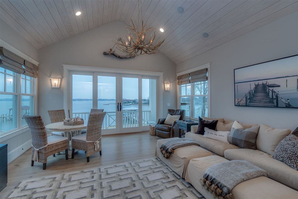 Mansions hidden gem in small lake norman enclave