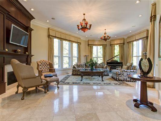 Custom estate on 22 acres luxury real estate