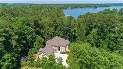 Luxury real estate private lakefront getaway