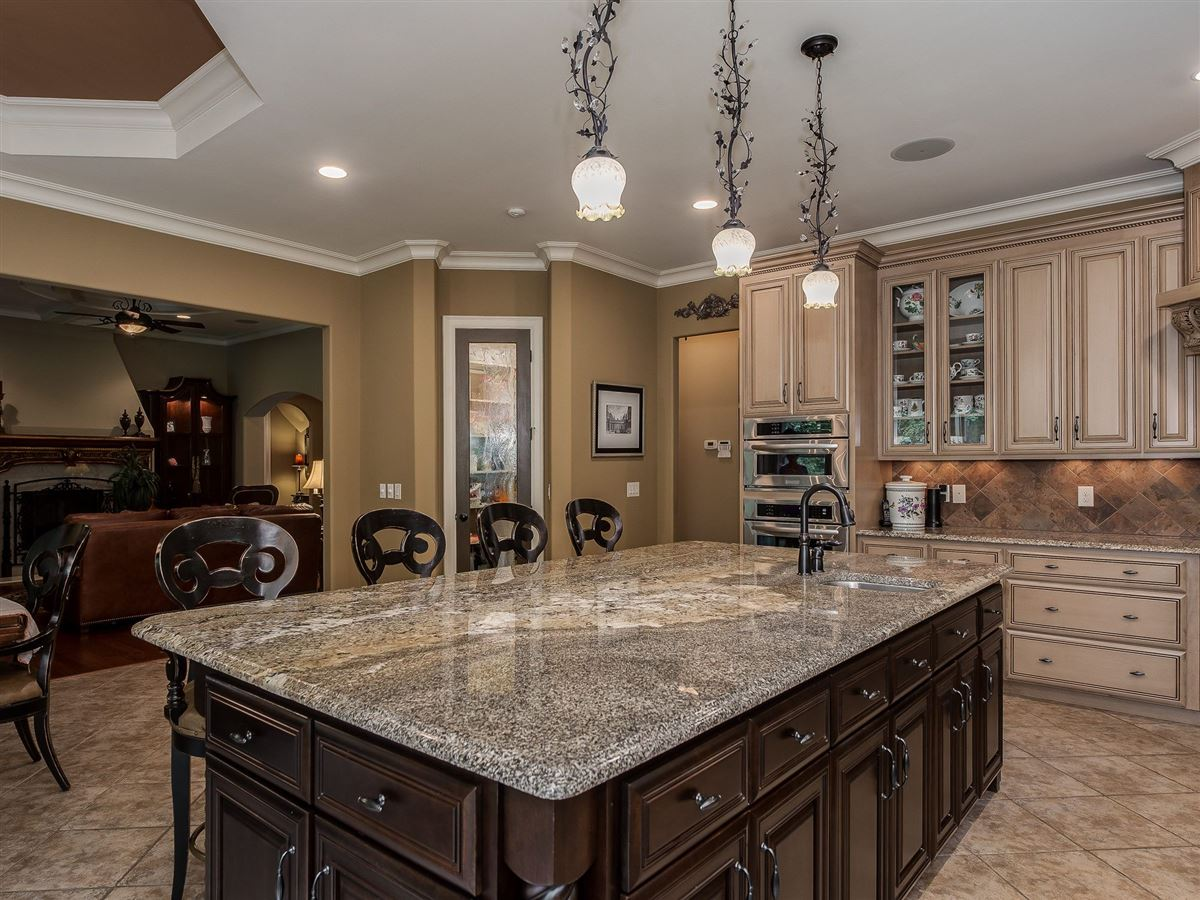 Mansions custom home full of character